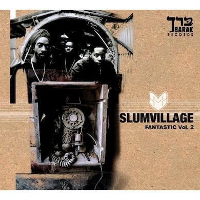 Slum Village FANTASTIC VOL. 2 (WSV) Vinyl Record