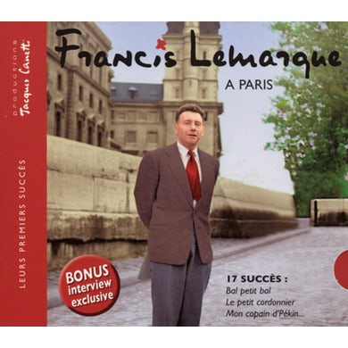 Francis Lemarque PARIS CD