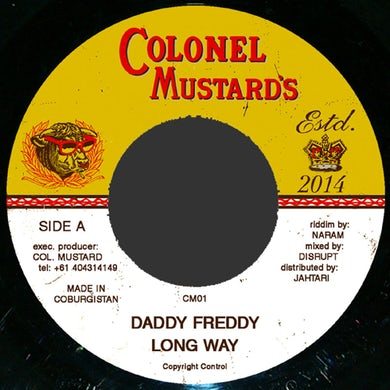 Daddy Freddy LONG WAY Vinyl Record