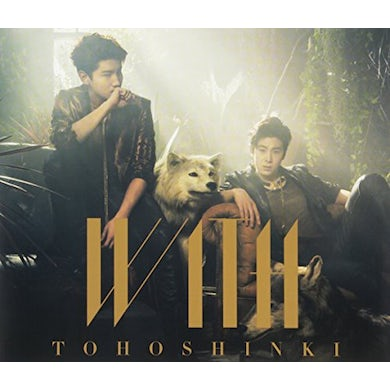 Tohoshinki WITH-A VER. (LIMITED EDITION) CD
