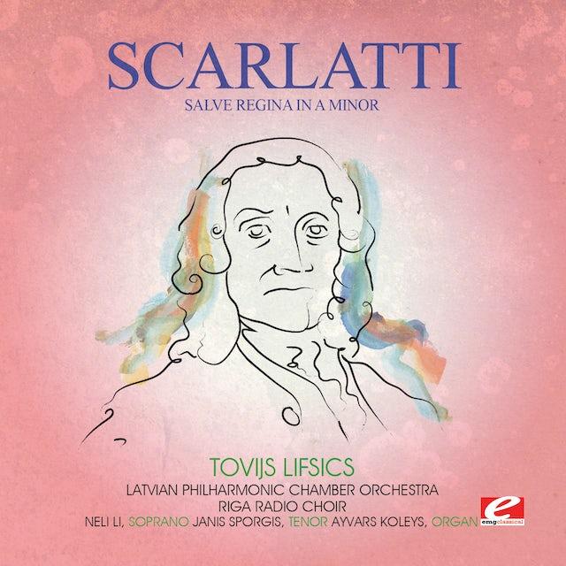 Scarlatti SALVE REGINA IN A MIN CD