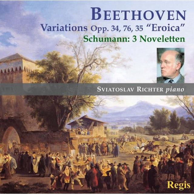Sviatoslav Richter BEETHOVEN / SCHUMANN: VARIATIONS CD
