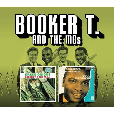 Booker T. & the M.G.'s GREEN ONIONS & SOUL DRESSING CD