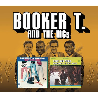 Booker T. & the M.G.'s HIP HUG HER & DOIN' OUR THING CD