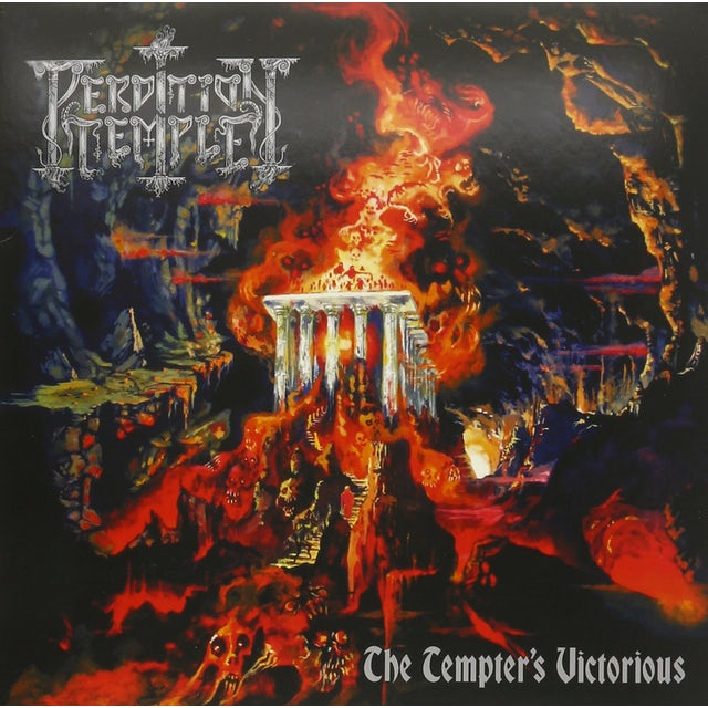 PERDITION TEMPLE TEMPTER'S VICTORIOUS Vinyl Record