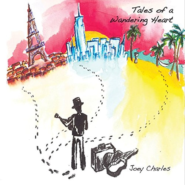 Joey Charles TALES OF A WANDERING HEART CD