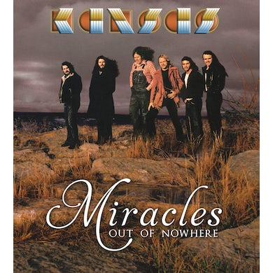 Kansas MIRACLES OUT OF NOWHERE CD