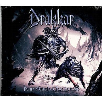 Drakkar RUN WITH THE WOLF CD
