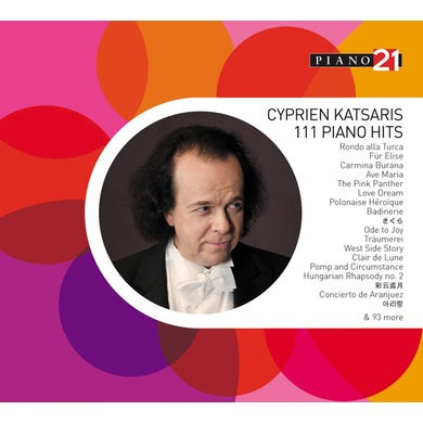 Cyprien Katsaris 111 PIANO HITS CD