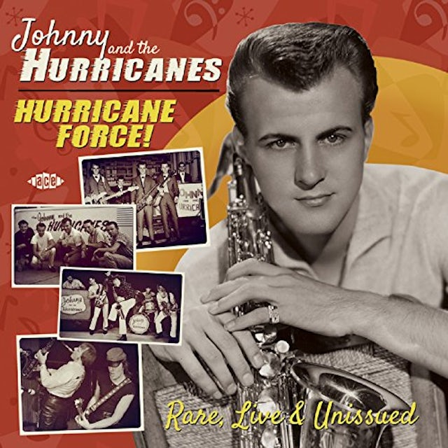 Johnny & The Hurricanes HURRICANE FORCE RARE LIVE & UNISSUED CD
