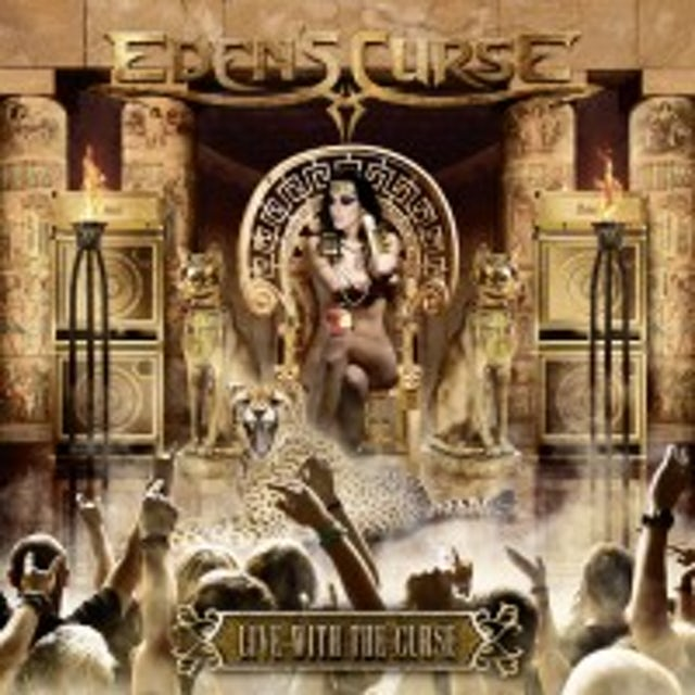 Eden's Curse LIVE WITH THE CURSE CD