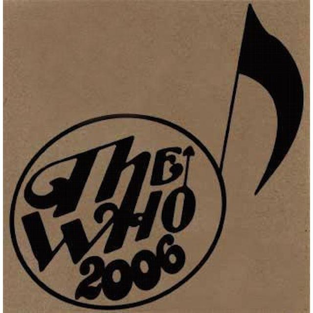 The Who LIVE: BONN DE 07/11/06 CD