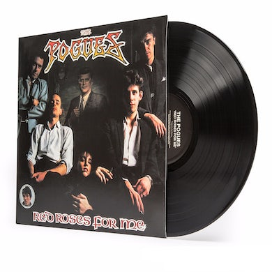 The Pogues RED ROSES FOR ME Vinyl Record