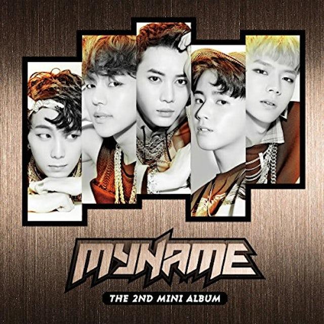 MYNAME (2ND MINI ALBUM) CD