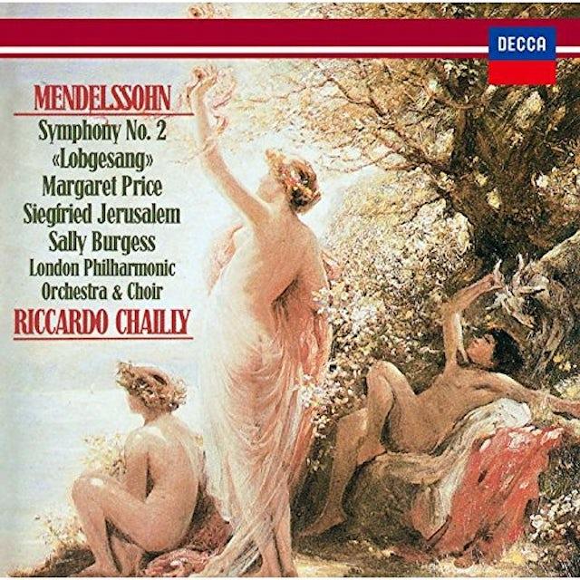 Riccardo Chailly MENDELSSOHN: SYMPHONY NO. 2 CD