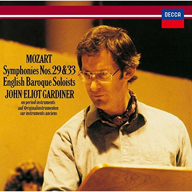 John Eliot Gardiner MOZART: SYMPHONIES NO. 29 & NO. 33 CD