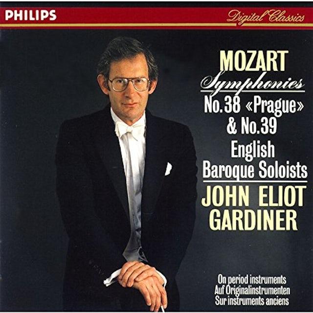 John Eliot Gardiner MOZART: SYMPHONIES NO. 38 & NO. 39 CD