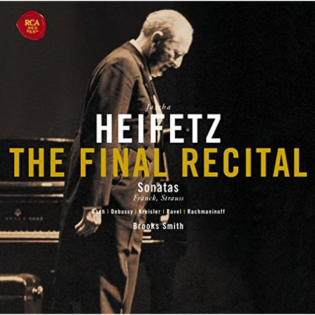 Jascha Heifetz FINAL RECITAL CD