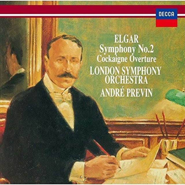 Andre Previn ELGAR: SYMPHONY NO. 2. COCKAIGNE OVER CD