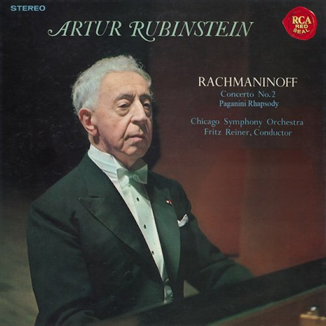 Arthur Rubinstein RACHMANINOFF: PIANO CONCERTO NO. 2 CD