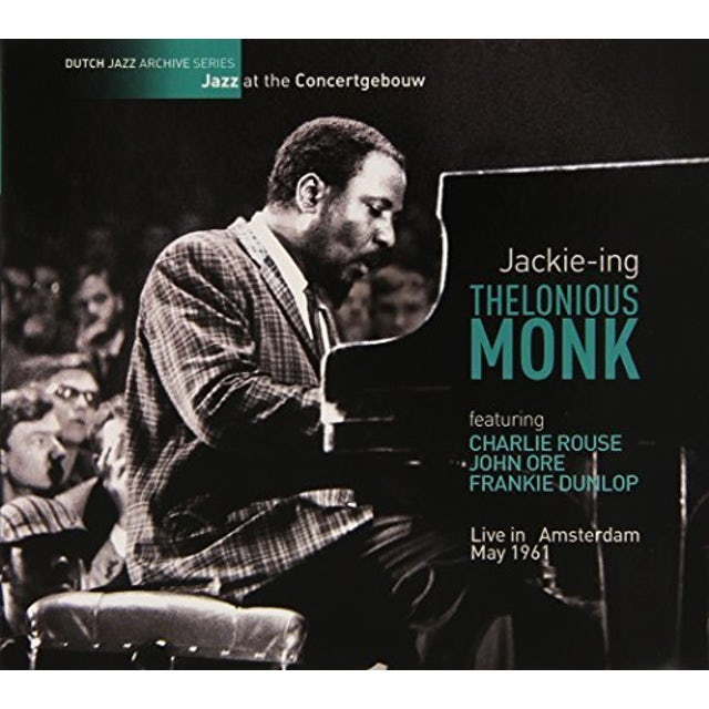 Thelonious Monk LIVE IN AMSTERDAM MAY 1961-BUSSUM APRIL 1961 CD