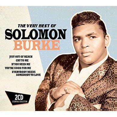 Solomon Burke VERY BEST OF CD