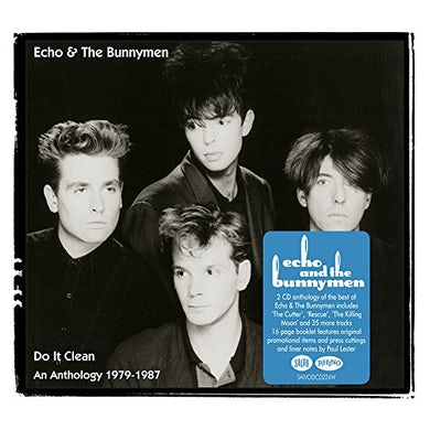 Echo & the Bunnymen DO IT CLEAN: AN ANTHOLOGY 1979-87 CD