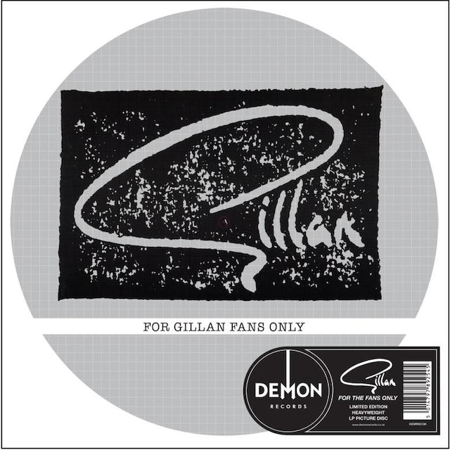 FOR GILLAN FANS ONLY-PICTURE DISC Vinyl Record