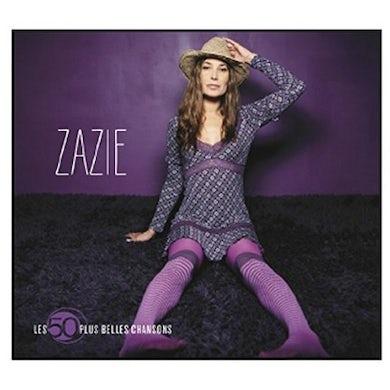 Zazie LES 50 PLUS BELLES CHANSONS CD