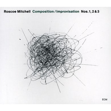 Roscoe Mitchell COMPOSITION/IMPROVISATION 1 2 & 3 CD