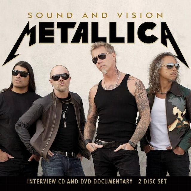 Metallica SOUND & VISION CD