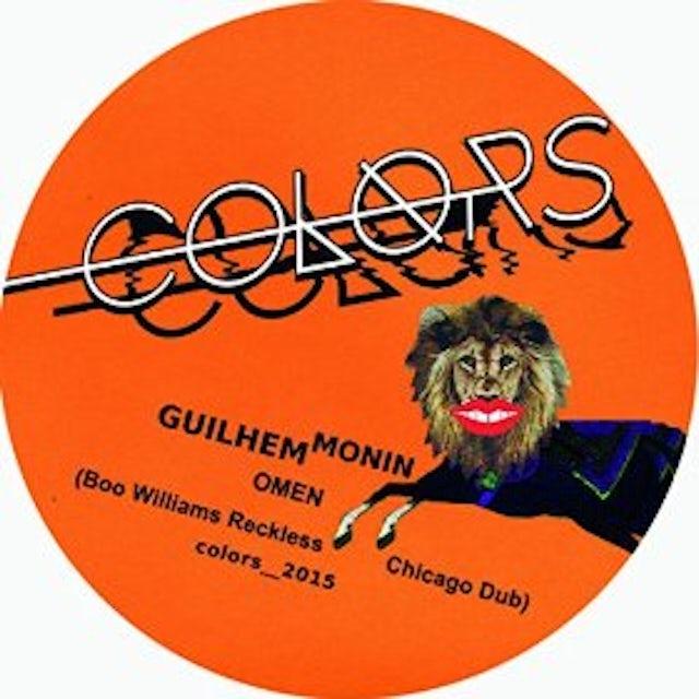 Guilhem Monin OMEN (BOO WILLIAMS RECKLESS CHICAGO DUB) Vinyl Record