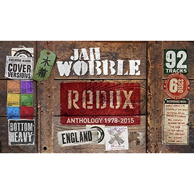 Jah Wobble REDUX: ANTHOLOGY 1978-15 CD