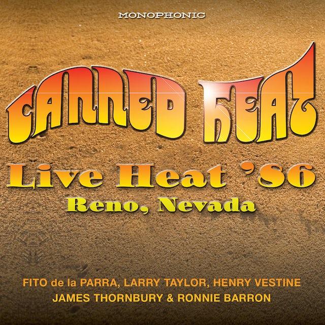 Canned Heat LIVE HEAT 86 RENO NEVADA CD