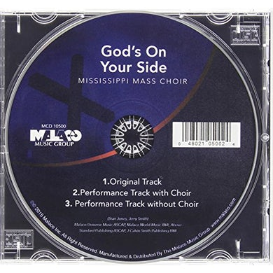 Mississippi Mass Choir GOD'S ON YOUR SIDE CD