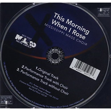 Mississippi Mass Choir THIS MORNING WHEN I ROSE CD