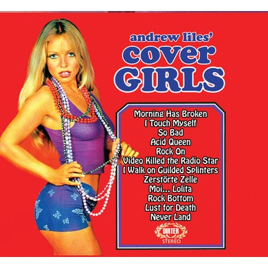 Andrew Liles COVER GIRLS CD