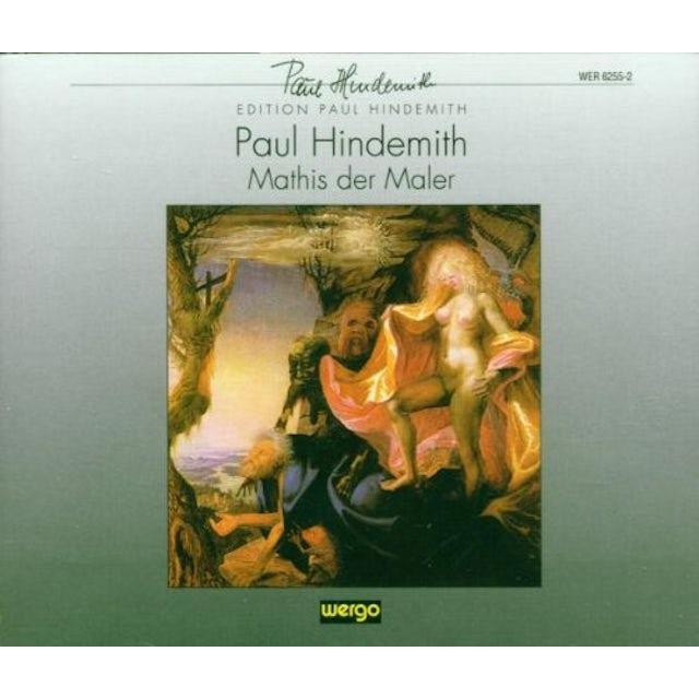 Hindemith MATHIS DER MALER CD