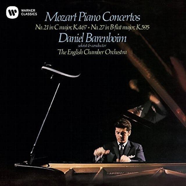 Daniel Barenboim MOZART: PIANO CONCERTOS NOS. 21 & 27 CD
