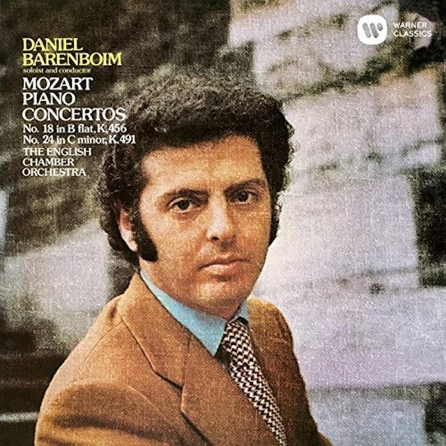 Daniel Barenboim MOZART: PIANO CONCERTOS NOS. 18 & 24 CD