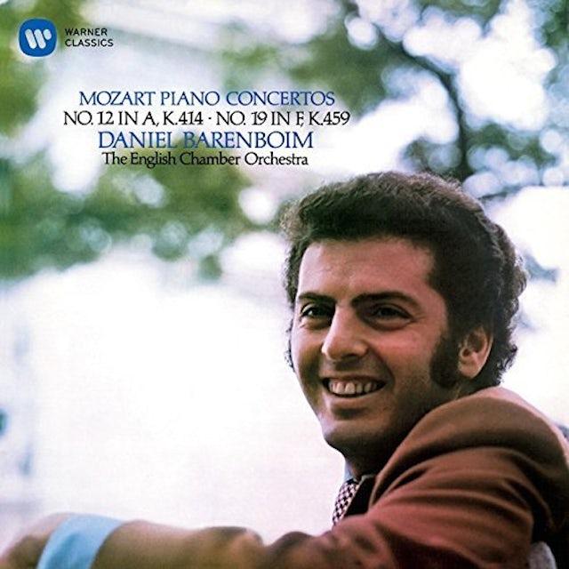Daniel Barenboim MOZART: PIANO CONCERTOS NOS. 12 & 19 CD