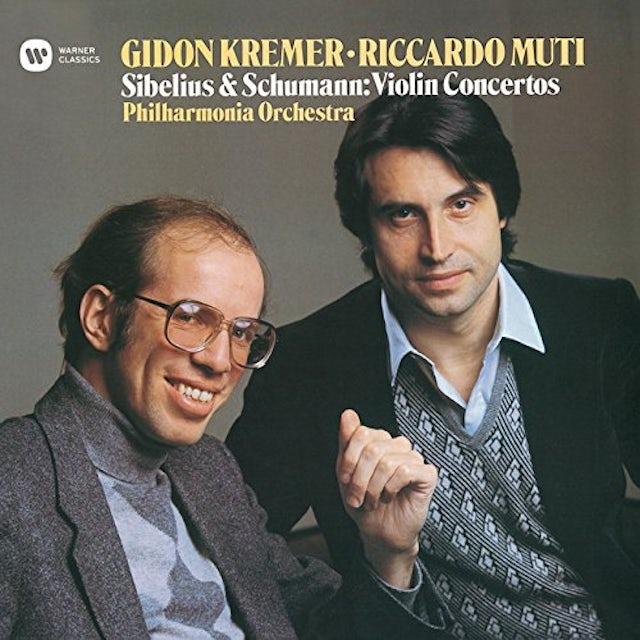 Gidon Kremer SCHUMANN & SIBELIUS: VIOLIN CONCERTO CD