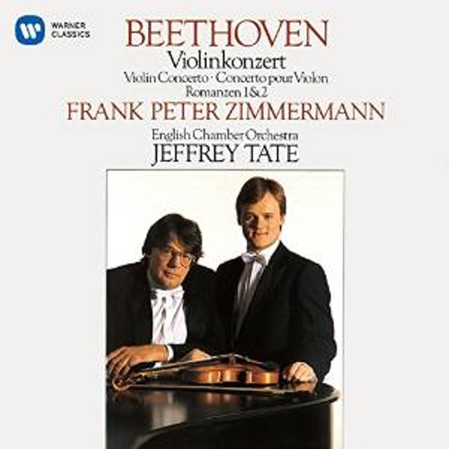 Frank Peter Zimmermann BEETHOVEN: VIOLIN CONCERTO. ROMANCES CD