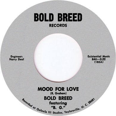 BOLD BREED MOOD FOR LOVE Vinyl Record - UK Release