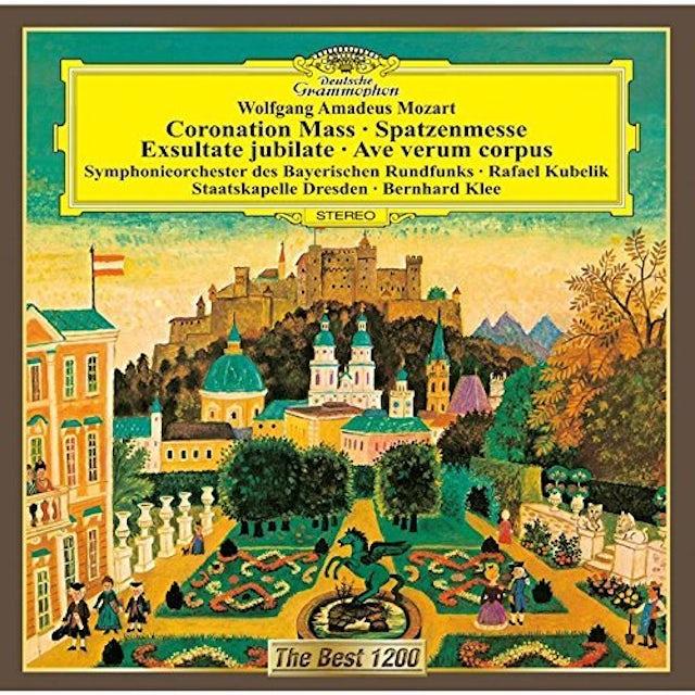 Rafael Kubelik MOZART: CORONATION MASS . EXSULTATE CD
