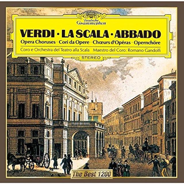 Claudio Abbado VERDI: OPERA CHORUSES CD