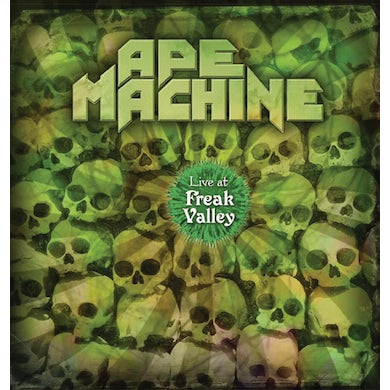 Ape Machine LIVE AT FREAK VALLEY Vinyl Record