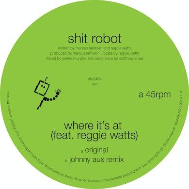 Shit Robot WHERE IT'S AT Vinyl Record