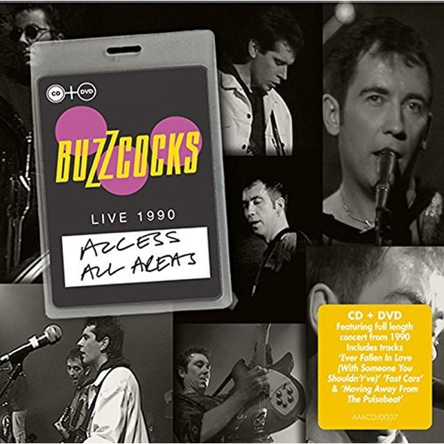 Buzzcocks ACCESS ALL AREAS LIBE 1990 CD