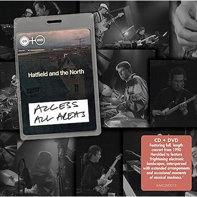 Hatfield & The North ACCESS ALL AREAS CD